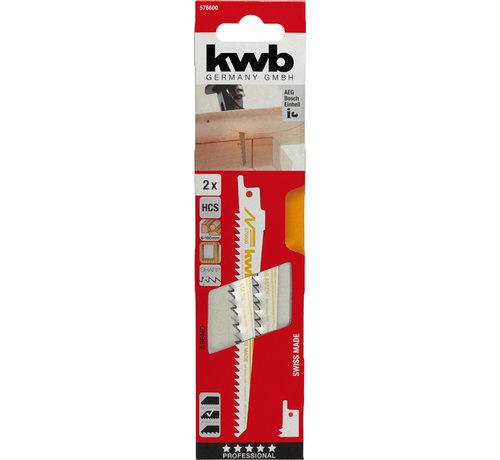 KWB Reciprozaagbladen HCS S644D Medium