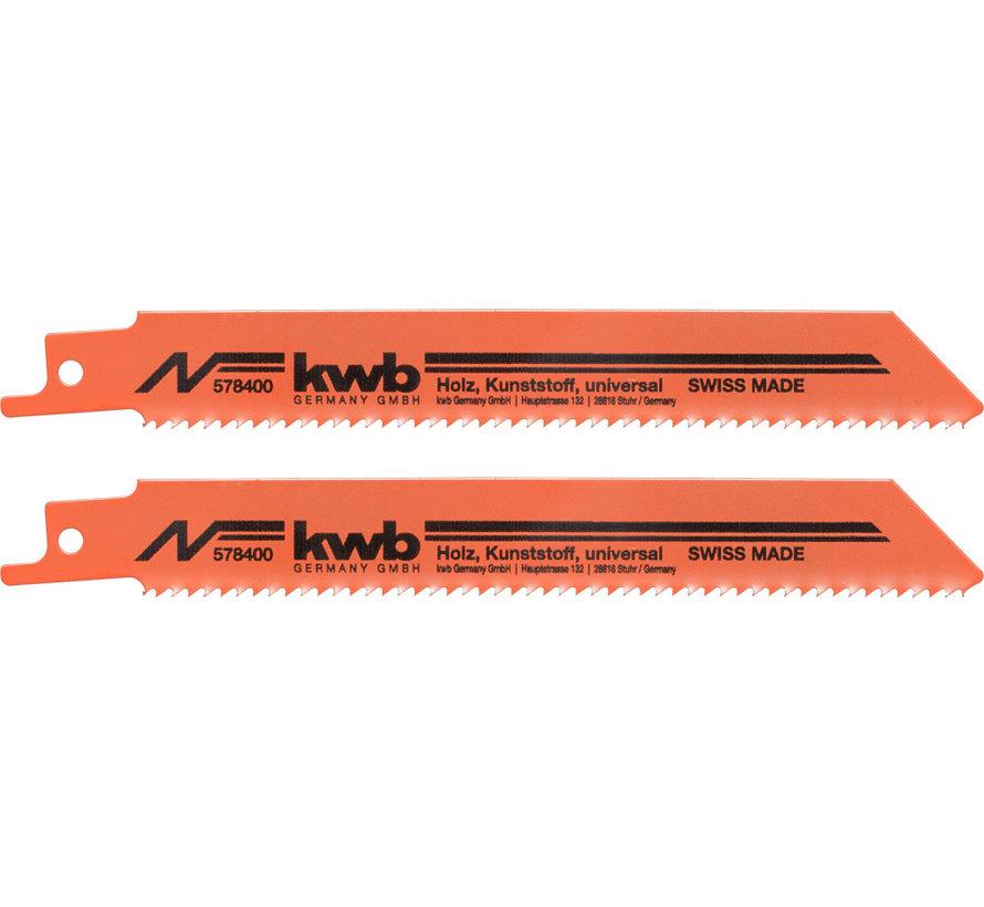KWB Reciprozaagbladen HCS S811H Medium