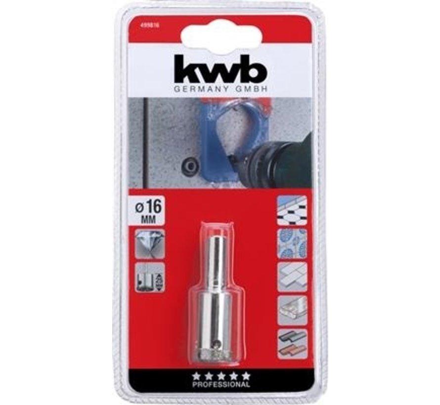 KWB Gatenzaag diamant 16x25mm