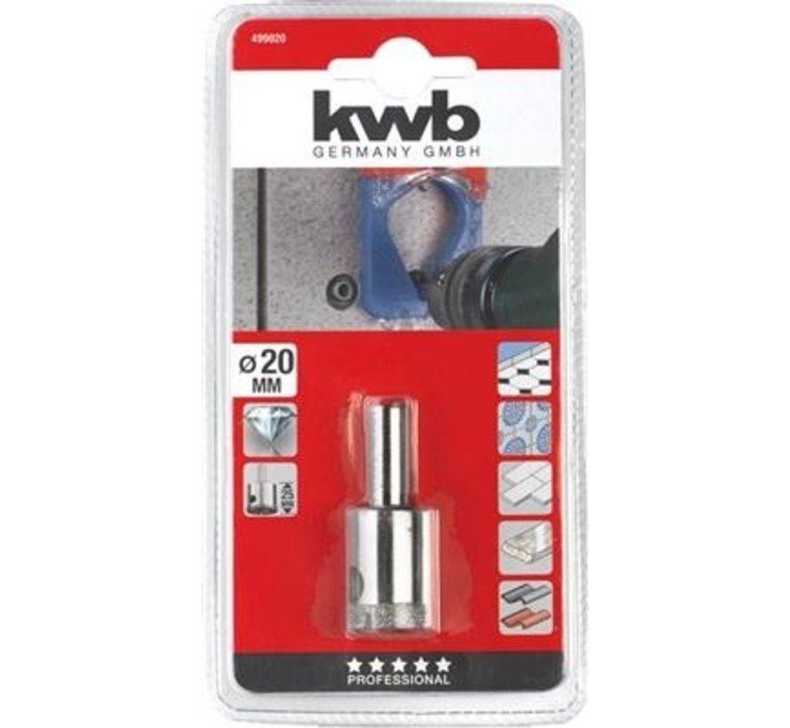 KWB Gatenzaag diamant 20x25mm
