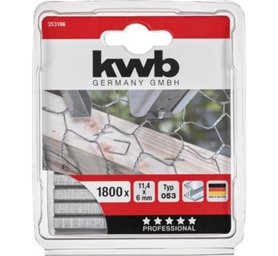 KWB Nieten 6x11,4mm Type 53