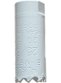 Gatenzaag Bimetaal HSS - CO 20mm
