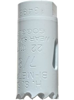 Gatenzaag Bimetaal HSS - CO 22mm