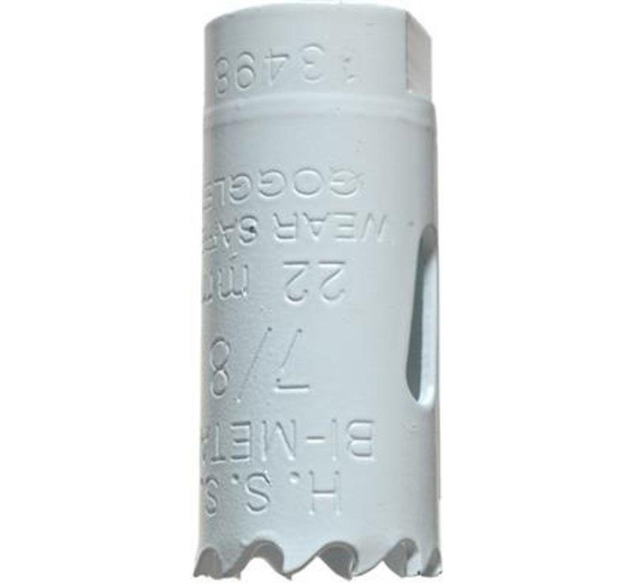 KWB Gatenzaag Bimetaal HSS - CO 22mm