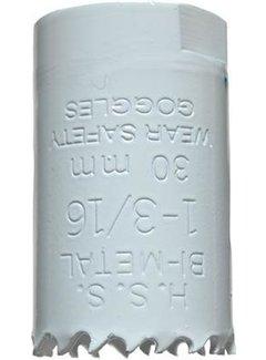 Gatenzaag Bimetaal HSS - CO 30mm