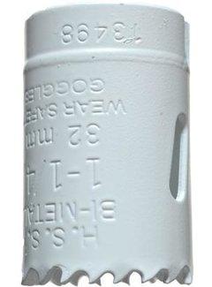 Gatenzaag Bimetaal HSS - CO 32mm