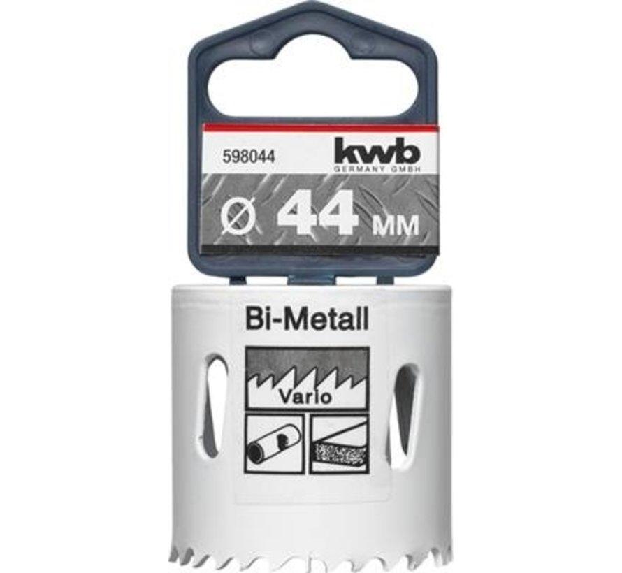 KWB Gatenzaag Bimetaal HSS - CO 44mm