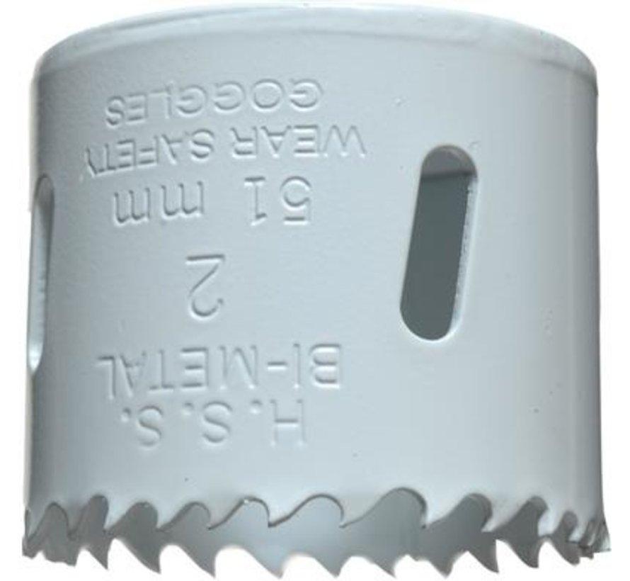 KWB Gatenzaag Bimetaal HSS - CO 51mm