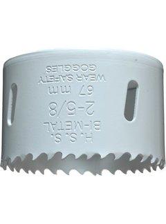 Gatenzaag Bimetaal HSS - CO 67mm