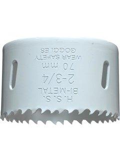 Gatenzaag Bimetaal HSS - CO 70mm