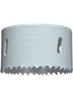 Gatenzaag Bimetaal HSS - CO 73mm