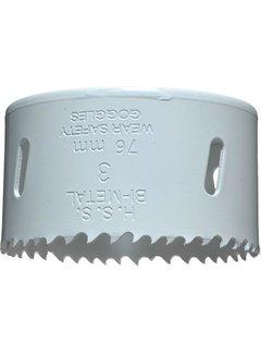 Gatenzaag Bimetaal HSS - CO 76mm