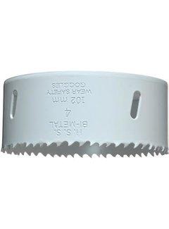 Gatenzaag Bimetaal HSS - CO 102mm