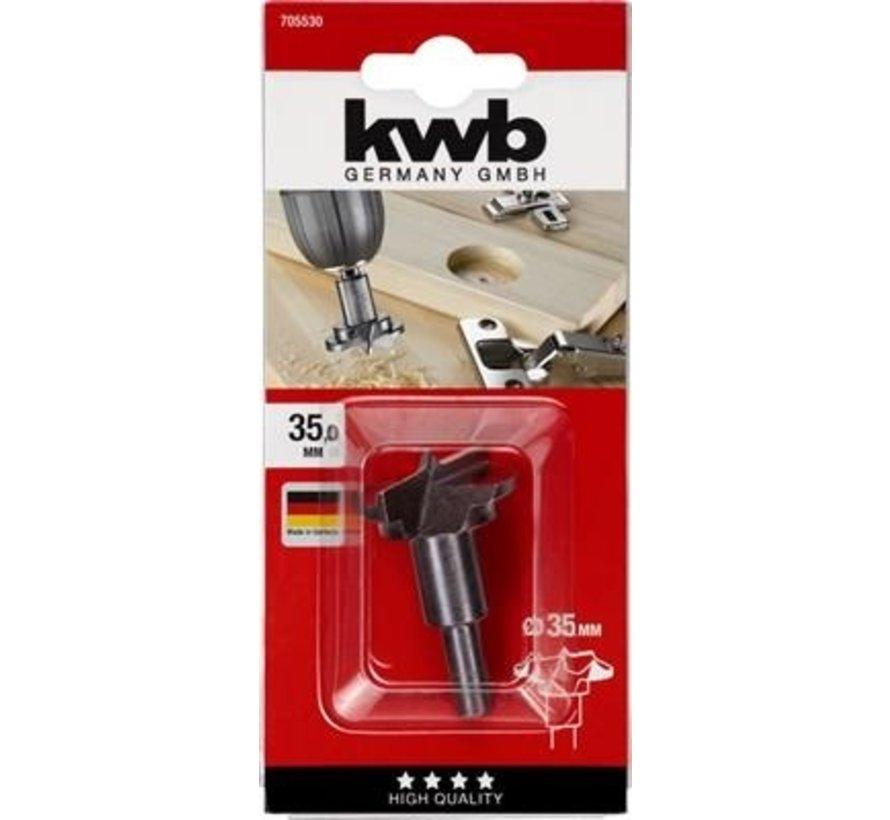 KWB Scharnierboor 35mm