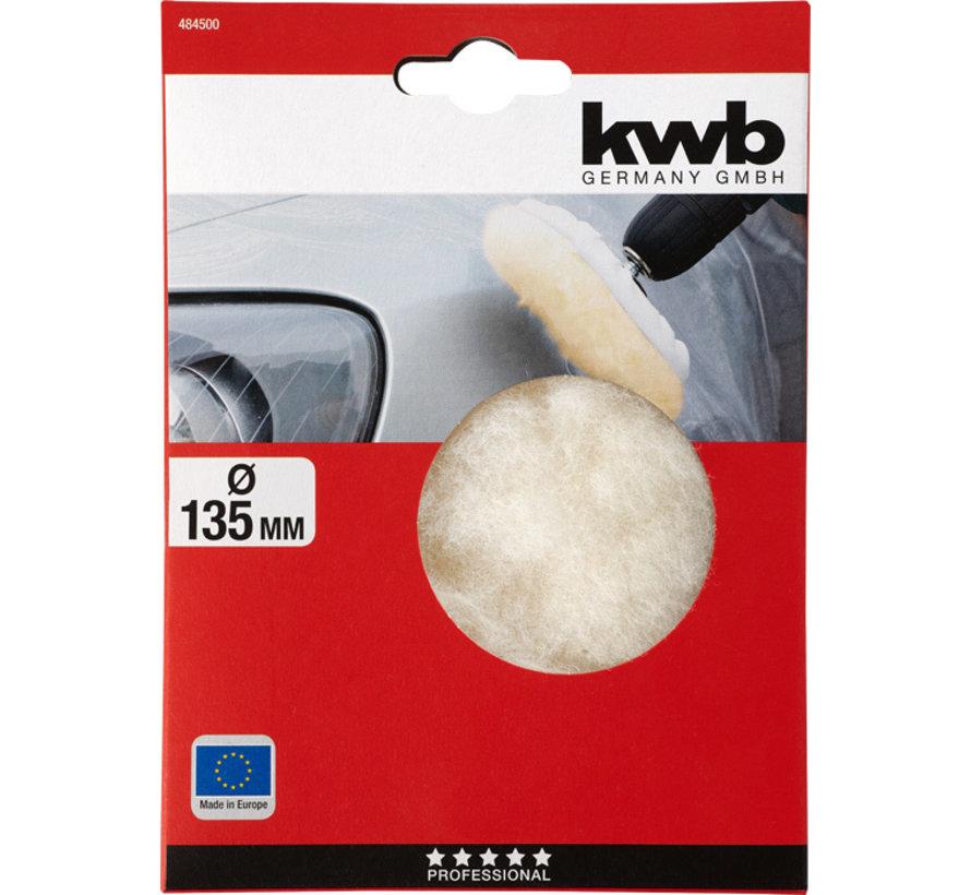 KWB Polijstvacht 135 mm lamswol