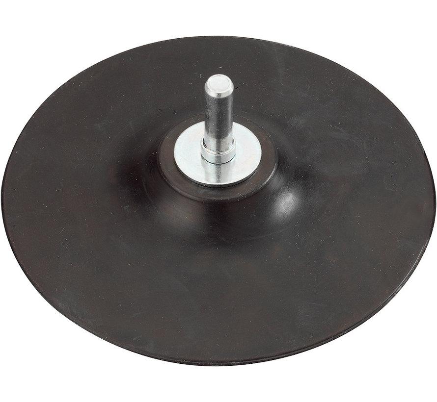 KWB Steunschijf 125mm rubber