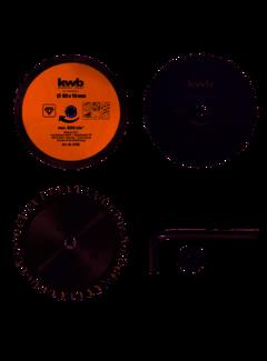 KWB Zaagbladen-set voor handcirkelzaag 89 x 10 mm
