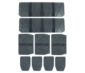 Kunststof Compartimenten Set voor E-case