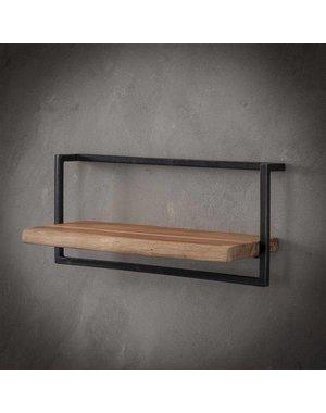 Wandplank Live Edge 65 cm