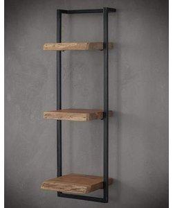 Wandplank Live Edge 30 cm, 100 hoog
