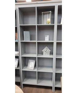 Boekenkast betongrijs