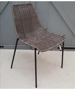 Eettafelstoel Morris grijs
