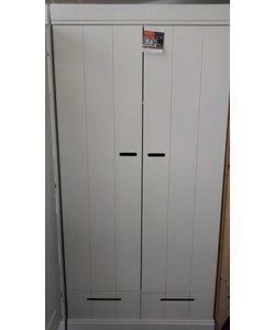 Kledingkast Strook Wit 2 deurs met lades