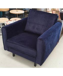 Fauteuil blauw velvet nightshade