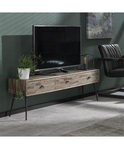 TV-meubel Teca Teak greywash
