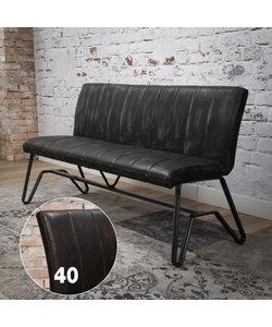 Eetbank vintage 180 cm Bruin