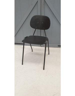 Eettafelstoel School zwart