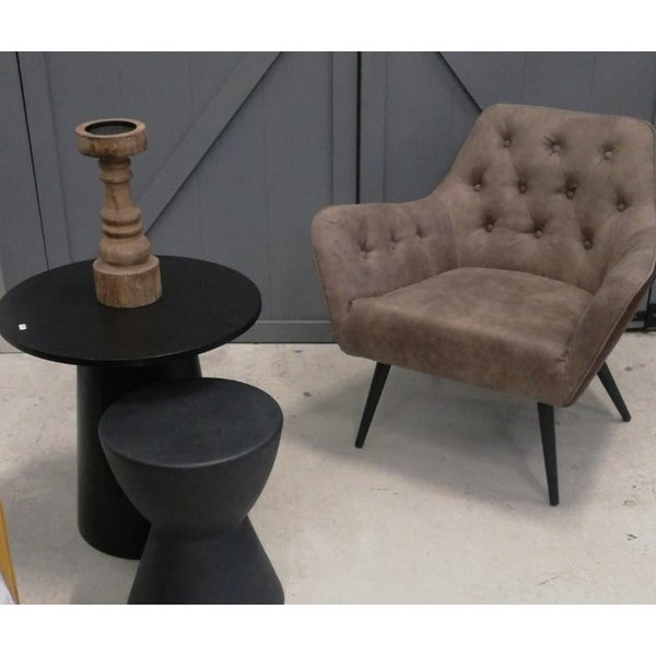 Richmond Interiors Richmond Interiors * Fauteuil Fenny Pu leer * Showroommodel