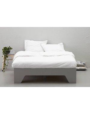 Woood Bed Cargo Grijs
