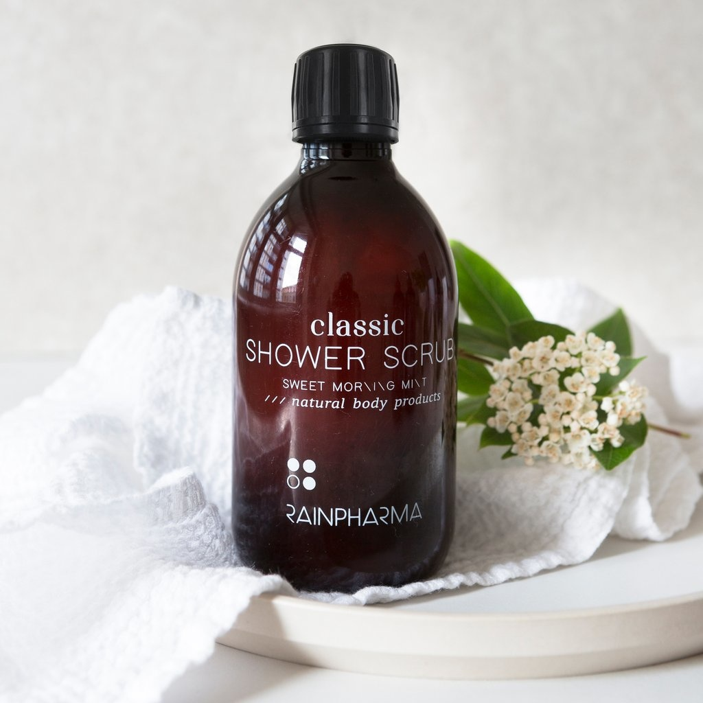 Classic - Shower Scrub - Sweet Morning Mint-1