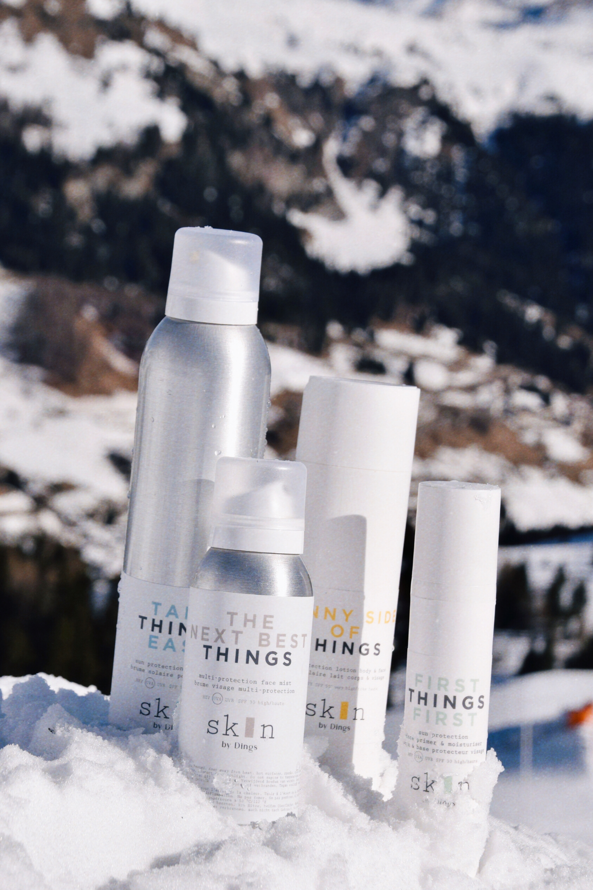 THE NEXT BEST THINGS - multi protection face mist SPF 30-5