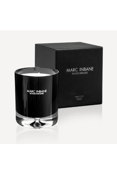 Bougie Parfumée - Tabac Cuir Black