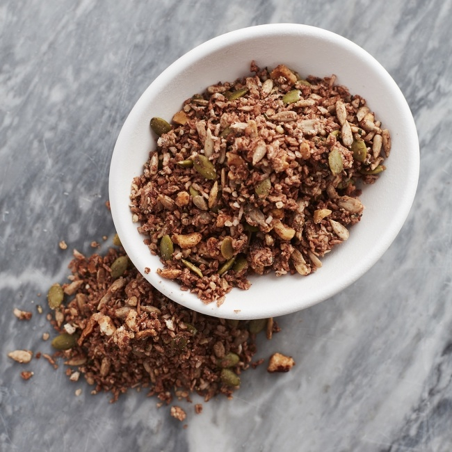 Chocolade Hazelnoot Keto Granola-1