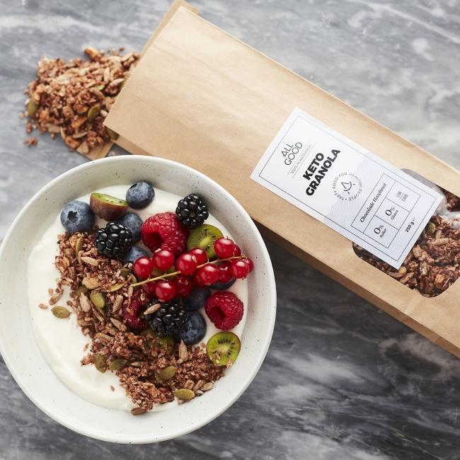 Chocolade Hazelnoot Keto Granola-2
