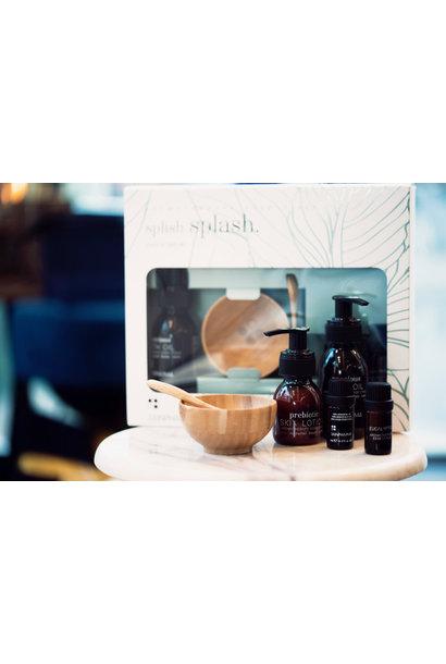 Splish Splash bath set + Prebiotic Skin Lotion 60ml