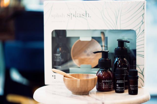 Splish Splash bath set + Prebiotic Skin Lotion 60ml-1