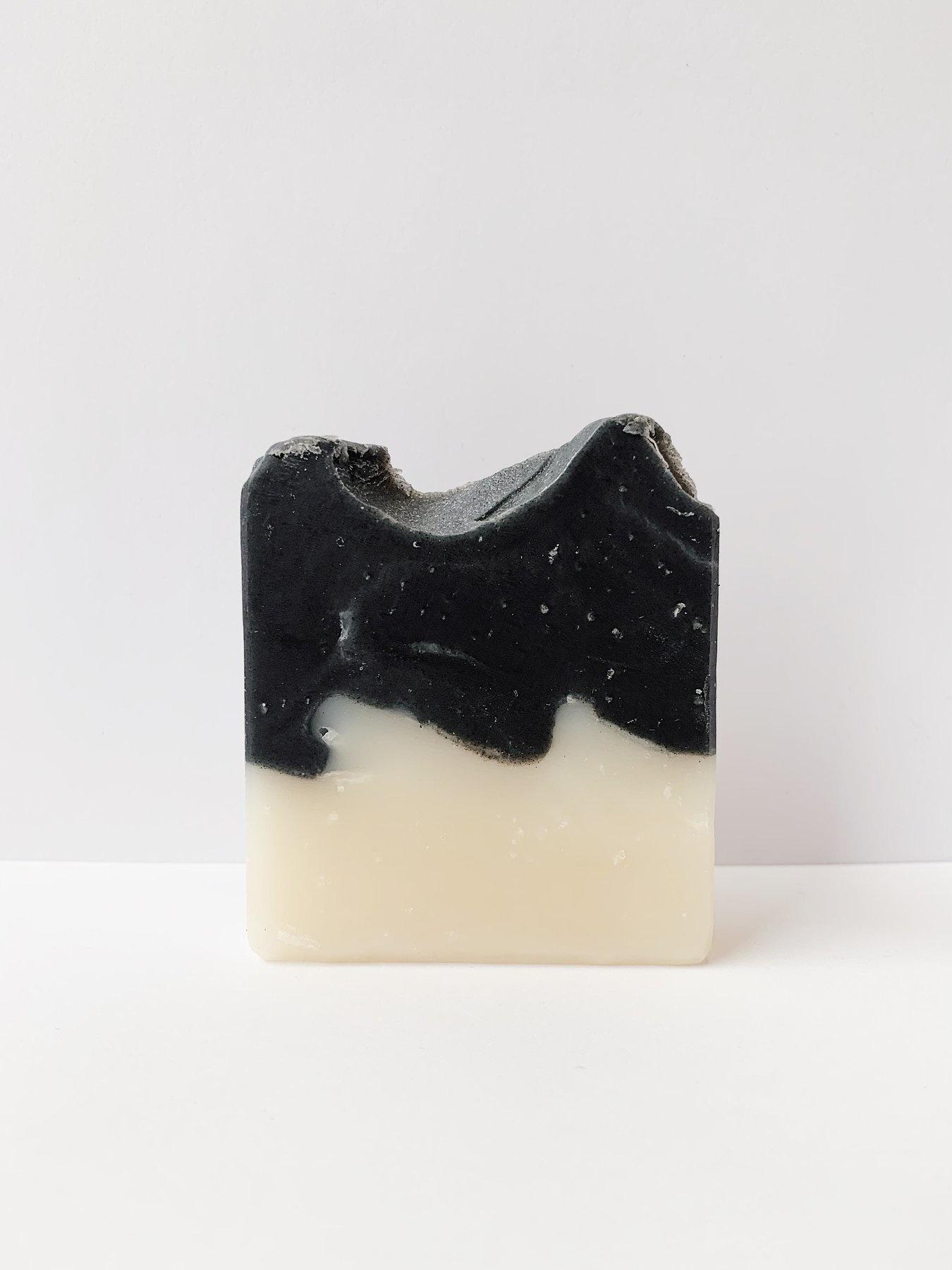 Shaving Bar - Cedarwood & Charcoal-1