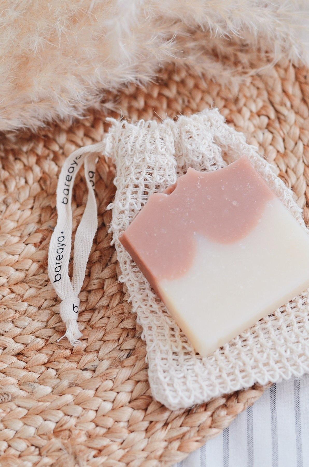 Shaving Bar - Rosemary & Pink Clay-3