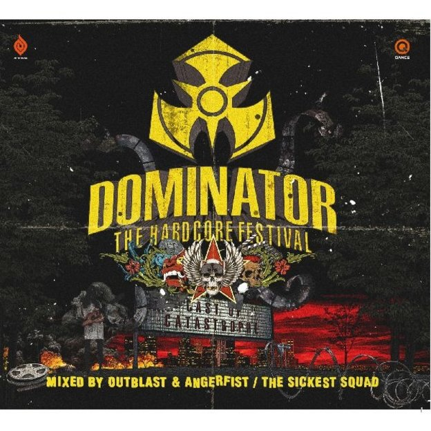 Masters of Hardcore DOMINATOR 2012 - CAST OF CATASTROPHE ALBUM