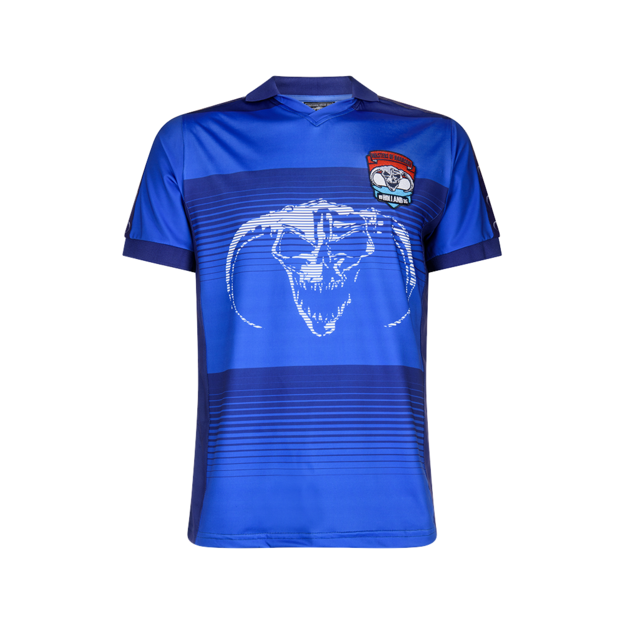 Masters of Hardcore BLUE SOCCER SHIRT