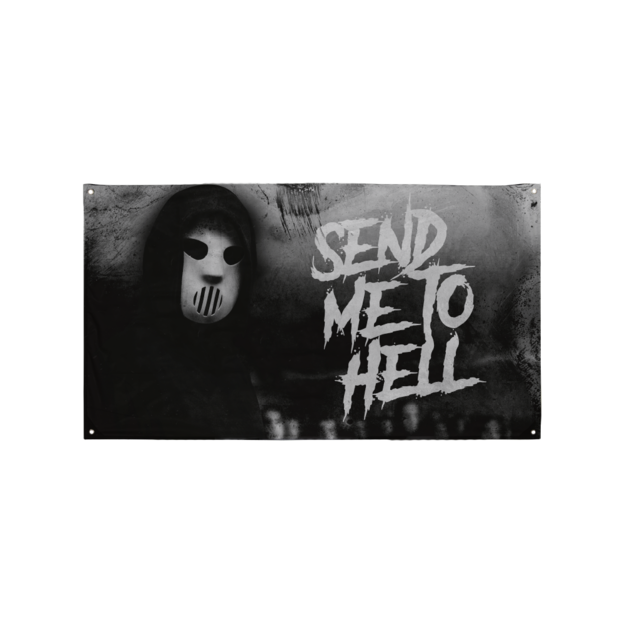 Angerfist SEND ME TO HELL FLAG