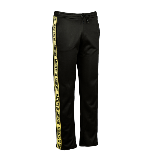 Masters of Hardcore BLACK AND YELLOW TRAINING PANTS