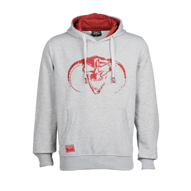 Masters of Hardcore MOH GREY HOODY