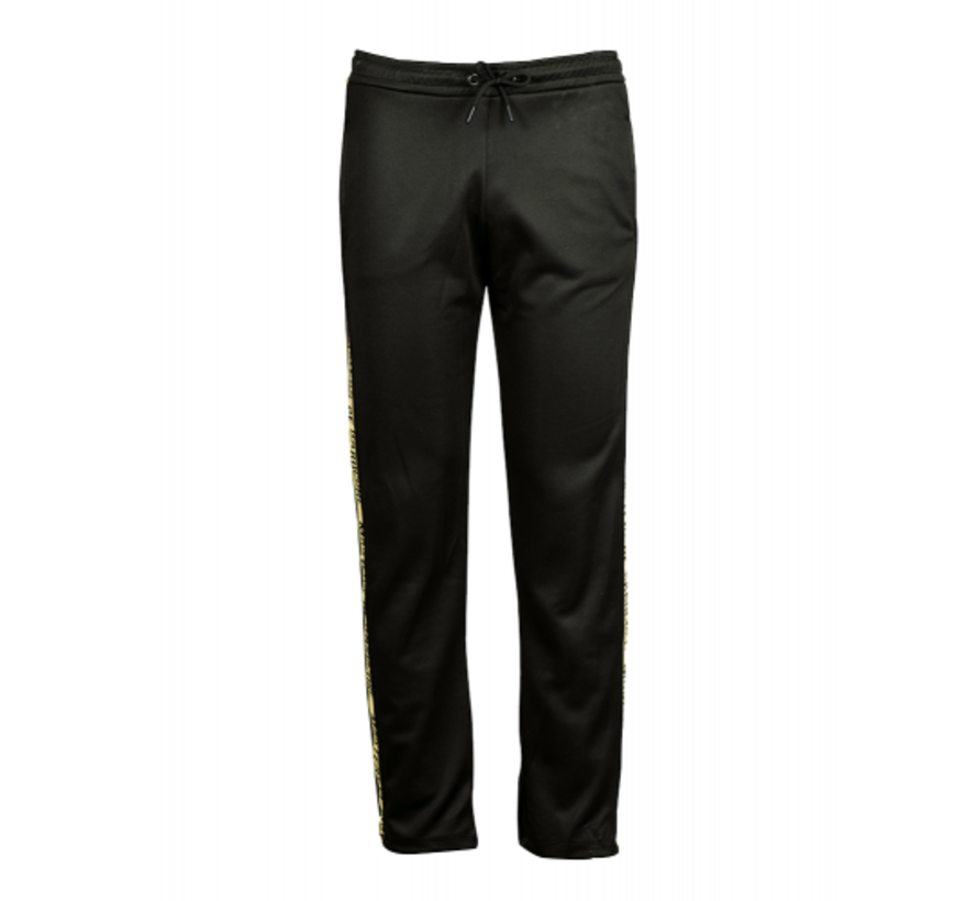 BLACK AND YELLOW TRAINING PANTS