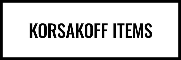 Shop Korsakoff
