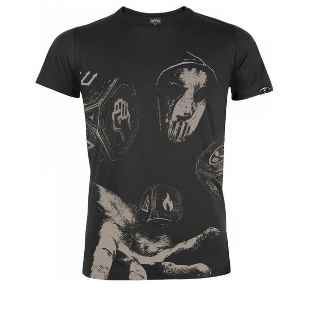 Angerfist DIABOLIC DICE LINE-UP SHIRT